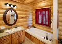 five ideas for creating the perfect log cabin bathroom Log Cabin Bathroom Ideas