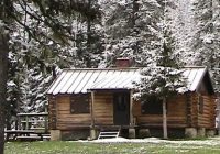 forest service crystal lake cabin big snowy mountains Crystal Lake Cabins