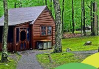 four big reasons to vacation in tiny cabins at west virginia Coopers Rock Cabins