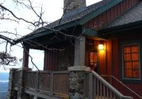front entrance of cabin picture of mount magazine state Mt Magazine Cabins