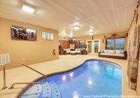 gatlinburg cabins with indoor private pools Gatlinburg Cabin With Pool