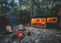 go off the grid in a catskills shipping container for 165 Shipping Container Cabin