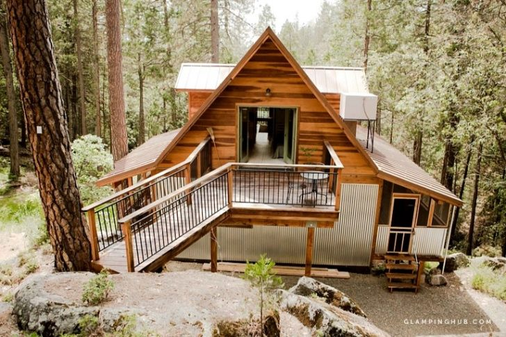 Permalink to Minimalist Cabin In Yosemite Gallery