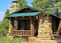 grand canyon lodge cabin north rim one of the rustic cab North Rim Grand Canyon Cabins