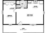 ham 24 x 30 pole barn plans guide cabins cabin floor 24 X 30 Cabin Plans With Loft