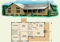 hampshire log home and log cabin floor plan 3 bed room Bedroom Log Cabin Floor Plans