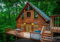 happy hiker in 2021 smoky mountain cabin rentals Cabin In Tennessee