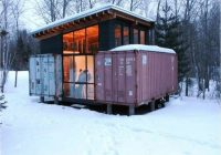 holyoke shipping container cabin the casa club Shipping Container Cabin