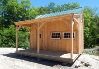 homesteader plans Small Cabin Kits With Loft