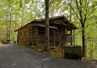 honeymoon cabin very secluded jacuzzi no fees close to town hot tub gatlinburg Romantic Cabins In Indiana