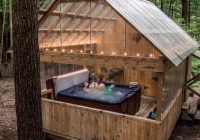 hot tub hominy ridge lodge and cabins Hominy Ridge Cabins
