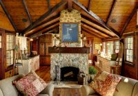 houzz tour charming rustic lakefront cabin in minnesota Log Cabin Furniture At Houzz