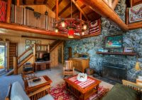 houzz tour log cabin on puget sound has more room to spare Log Cabin Furniture At Houzz