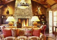 houzz tour woodsy ranch offers sophisticated comfort Log Cabin Furniture At Houzz