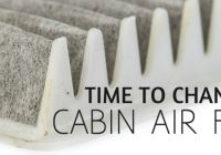 how do you know you need to replace your cabin air filter Scented Cabin Air Filter