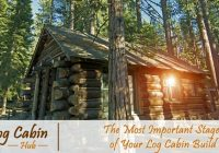how to build a log cabin from scratch and hand log Building A Log Cabin By Hand