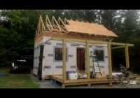 how to build forest cabin building 12×20 hunting cabin with Diy Hunting Cabin
