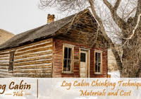 how to chink your log cabin log cabin chinking techniques Log Cabin Chinking Recipe