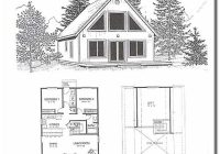 idaho cedar cabins floor plans 2 Bedroom Cabin With Loft Floor Plans