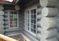 image result for grey log cabin stain cabin exterior colors Log Cabin Exterior Paint Colors