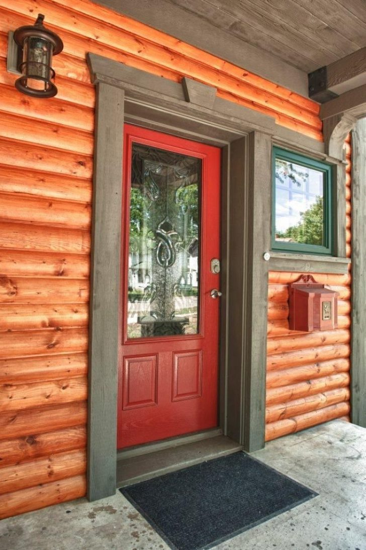 Permalink to Perfect Log Cabin Exterior Window Trim