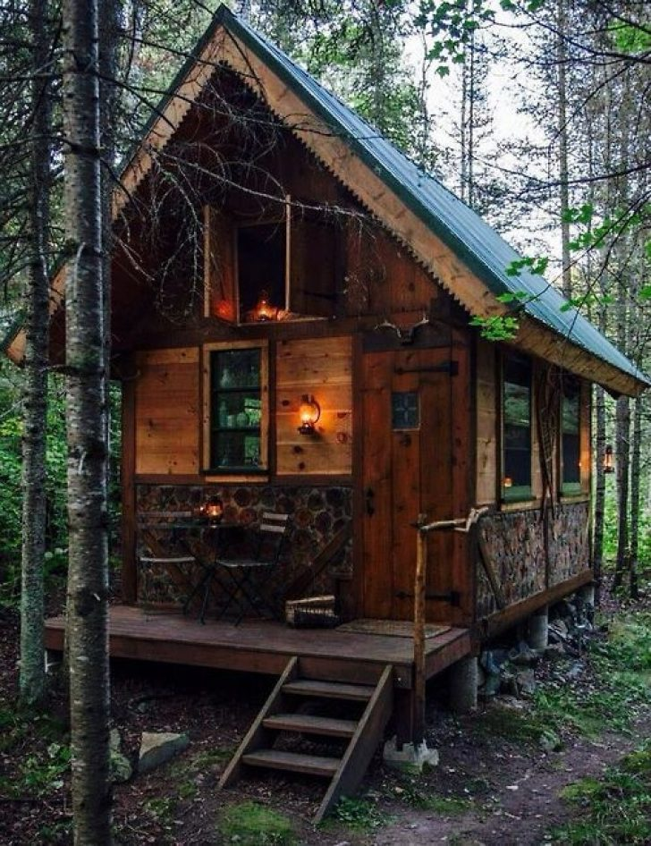 Permalink to Perfect Rustic Cabin Pictures Ideas