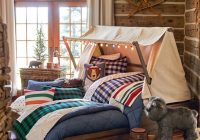 kids cabin theme bedrooms rustic decor Cabin Decor Bedding