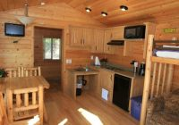 kitchen inside a deluxe cabin picture of san diego metro Cabins In San Diego