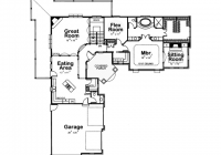 l shaped ranch house plan with garage 2015 house plans and L Shaped House Floor Plan Gallery