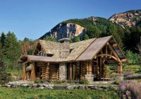 landscaping for log homes dos and donts Cabin Landscaping Ideas