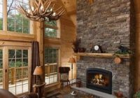 lighting bright ideas for your new log or timber home Log Cabin Chandelier