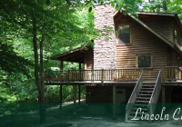 lincoln cabin hocking hills old mans cave ohio Cabin In Hocking Hills