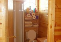 little cabin bathroom tiny bathroom in 2020 log cabin Cabin Bathroom Ideas