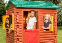 little tikes log cabin open floor plan cabin Little Tikes Log Cabin Playhouse