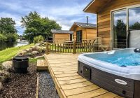 lodges with hot tubs hot tub lodges log cabins with hot tubs Cabin With Hot Tub