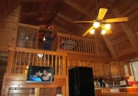 loft area picture of uchee creek army campground and Fort Benning Cabins