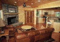 log cabin decorating ideas from blue ridge log cabins Cabin Decorating Ideas