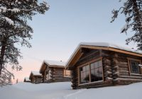 log cabin holidays lapland norway discover the world Night Log Cabin Breaks