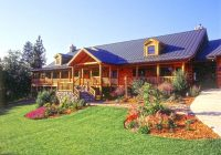log cabin landscaping landscaping for easy log home Cabin Landscaping Ideas