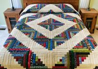 log cabin quilt magnificent well made amish quilts from Log Cabin Quilter
