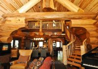 log cabin style living room loft designs bc canada Log Cabin Style