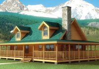 log home and log cabin floor plan details from nh log cabin Log Cabin Plans With Wrap Around Porch