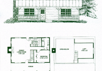 lonesome pine ii 1 bed 1 bath 15 stories 1148 sq ft 2 Bedroom Cabin With Loft Floor Plans