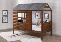 magana log cabin twin loft bed Bed Log Cabins
