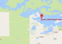 mas shed cabin rental on lake vermilion enjoy lake vermilion Lake Vermilion Cabins