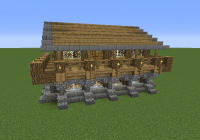 medieval rustic log cabin grabcraft your number one Minecraft Rustic Cabin