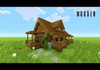 minecraft how to build wooden house rustic youtube Minecraft Rustic Cabin