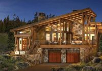 modern log and timber frame homes and plans precisioncraft Modern Cabin Plans
