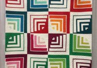 modern log cabin quilt made with solids quilts modern Log Cabin Quilts Modern