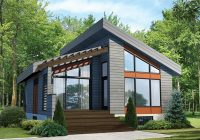 mohican rustic modern cabin plan 126d 1012 house plans and Modern Cabin Plans